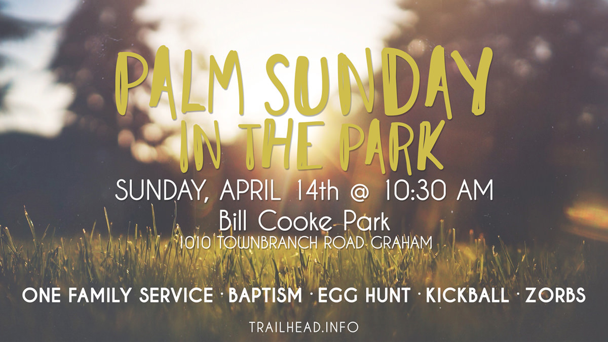 Palm Sunday in the Park